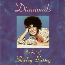 SHIRLEY BASSEY : DIAMONDS - THE BEST OF SHIRLEY BASSEY / CD - TOP-ZUSTAND