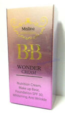 BB Mistine Wonder Cream Makeup Base Primer Foundation SPF30 Anti-Wrinkle 7.5 g.