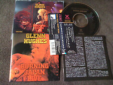 GLENN HUGHES / burning Japan live / JAPAN LTD CD OBI