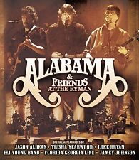 ALABAMA & FRIENDS New Sealed 2017 LIVE RYMAN CONCERT & MORE DVD