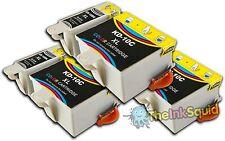 6 Compatible Kodak 10 Ink Cartridges (K10BK & K10C) for Easy share 5300 Printer