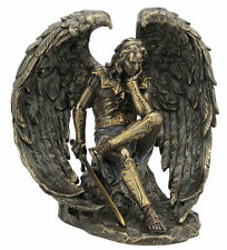 6.5 Inch Lucifer Fallen Angel Statue Satan Evil Devil Decor Figurine Diablo