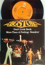 "Boston - Don't Look Back 3 Track 7"" Vinyl Single, 1979, EPIC. Classic Rock AOR"
