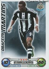 MARTINS NIGERIA NEWCASTLE UNITED LEVANTE.UD CARD PREMIER LEAGUE 2009 TOPPS