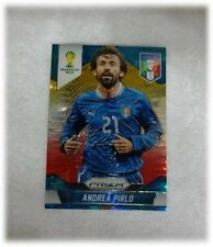 2014 Panini Prizm World Cup Yellow Red Pulsar Andrea Pirlo - Italy #128