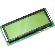 Large Size Black Character LCD Module LCM With Yellow LED Backlight 20x4 20*4