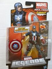 "COOL NEW MARVEL LEGENDS ULTIMATE CAPTAIN AMERICA 6"" FIGURE HIT MONKEY AVENGERS"
