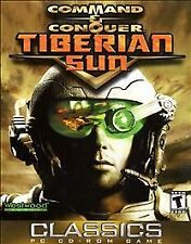 COMMAND & CONQUER: TIBERIAN SUN PC GAME! with Manual