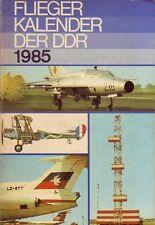 Fliegerkalender der DDR 1985 (inkl. Militärtechnik/Flugzeuge/NVA/DDR)
