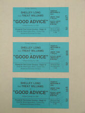 GOOD ADVICE STARRING SHELLY LONG 1992 AUDIENCE TICKETS HOLLYWOOD CBS COMEDY
