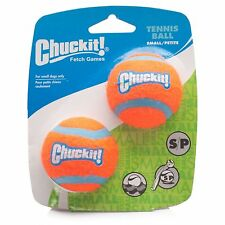 Chuckit! Tennis Ball 2 pack Small 4.8cm Posted today if paid before 1PM