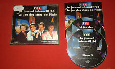 TF1Le Journal Interactif 94 -Jeu des Star de l'Info CDI CD-I PHILIPS COMPLET PAL