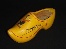 Heineken Holland Beer - Vintage Wooden Shoe
