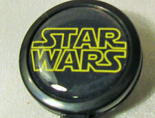 STAR WARS Badge ID Reels Large Face plastic holder work card black belt clip