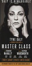Tyne Daly. Signed. Master Class. Maria Callas  ZT.49