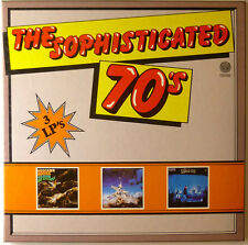 "3 x 12"" LP - Various - The Sophisticated 70' s - B2299 - RAR, Beggars Opera, Mag"
