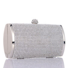 Diamante Crystal Elegant Wedding Bridal Party Evening Bag Women's Clutch Handbag