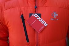 NWT $495 RLX Ralph Lauren HOODED DOWN SKI JACKET size XL ELITE ORANGE