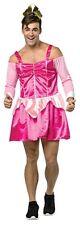 Mens Stripper Costume Princess Prostitute Dancer Hooker Suit Fancy Dress Adult