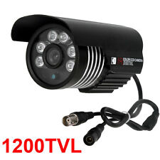 CCTV 1200TVL COLOR OUTDOOR 6pcs ARRAY LEDs IR Waterproof BULLET CAMERA  IR-CUT