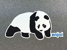 Enjoi Panda Skateboard Sticker SMALL 2.75in si