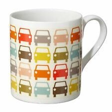 Orla Kiely Multi Cars Car Park Mug - Fine Bone China