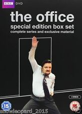 THE OFFICE COMPLETE BBC SERIES 1 - 2 DVD BOX SET Christmas Special Ricky Gervais