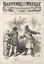Emancipation of Labor and Honest Working People - Thomas Nast - Politics  - 1874