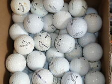 100 practice Callaway HX Tour Hex & Chrome golf balls bargain!
