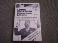 SEALED RARE PROMO Louis SATCHMO Armstrong CASSETTE TAPE Bob Thiele Collective 92