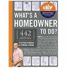 What's a Homeowner to Do? - Acceptable - Fanuka, Stephen - Paperback