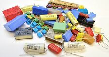 ELECTRONIC COMPONENTS ASSORTMENT -  FOIL CAPACITORS, FILM CAPACITORS  -100pk