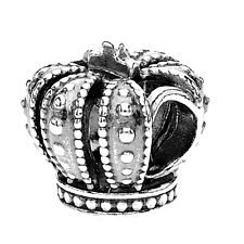 """Authentic Pandora #790930 """"Royal Crown"""" Sterling Silver Charm Bead New with Tag!"""