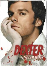 Dexter -The Complete First Season (DVD, 2007, 4-Disc Set) Brand New Sealed!