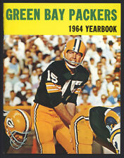 1964 Green Bay Packers official team Yearbook. Bart Starr. Extremely high-grade!