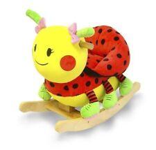 Rockabye Lulu Ladybug Rocker 85025 Rocking Toy NEW