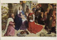 Alte Kunstpostkarte - Hugo van der Goes - Anbetung der Könige