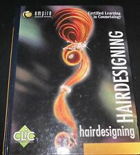 Clic Empire Learning In Cosmetology Hairdesigning Hardcover Text Book