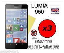 3x HQ MATTE ANTI GLARE SCREEN PROTECTOR COVER FILM GUARD FOR MICROSOFT LUMIA 950
