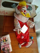The Heritage Mint Ltd Happiness & Love collection Funny Frank Porcelain Clown 16