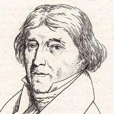 Portrait XIXe Pierre Louis de Lacretelle Metz Moselle Lacretelle l'aîné