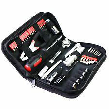 56 Piece Precision General Tool Set Homeowner  Kit Zippered Case Household hand