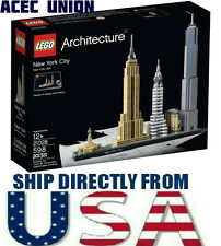 U.S. SELLER - LEGO Architecture 21028 New York City 598/Pcs - SHIP FROM U.S.A.