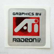 Lot 3 Graphics by ATI RADEON IGP Sticker Badge/Logo/Label A42