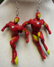 NORA WINN NEW~IRON MAN~  925 Sterling Earrings HERO MOVIE FUN FUN