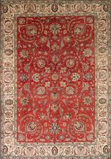 "Clearance! All-Over Antique 8x11 Tabriz Persian Oriental Area Rug 11' 6"" x 8' 1"""