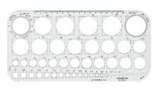 Staedtler Mars Circle Template Stencil - 45 Circles from 1mm to 36mm (576 01 F)