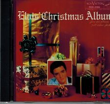 ELVIS PRESLEY - ELVIS CHRISTMAS ALBUM - W/COLOR PHOTOS- NEW SEALED CD - 1957 RCA
