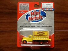 CLASSIC METAL WORKS 1/87 HO 41/46 CHEV DELIVERY TRUCK SUNSHINE BAKERY #30333 F/S