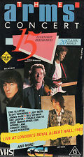 THE ARMS CONCERT - 20 Classic Songs - VHS - PAL N&S - Never played!! - VERY RARE